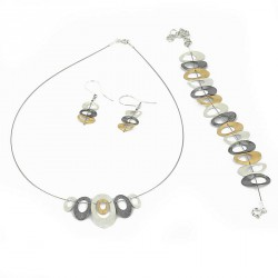 Bracletet Steal and Silver 925 -