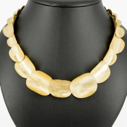 Necklace Silver Goldplated - KRN23