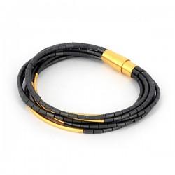 Armband black Hematite