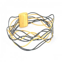 Armband Filig magnet vergoldet/oxidiert