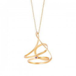Halskette Acero chapado en Oro
